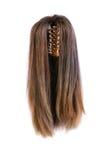 Parrucca dei capelli isolata Fotografie Stock Libere da Diritti