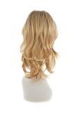 Parrucca dei capelli sopra la testa del manichino Fotografia Stock Libera da Diritti
