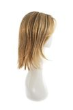 Parrucca dei capelli sopra la testa del manichino Immagini Stock Libere da Diritti