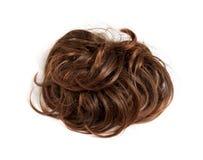 Parrucca di Brown Immagini Stock