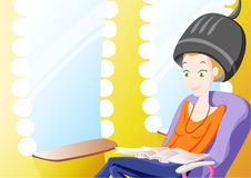 Parrucchiere royalty illustrazione gratis