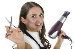 Parrucchiere professionista Fotografia Stock Libera da Diritti