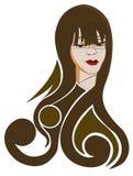 parrucchieri illustrazione di stock