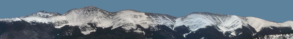 Parry Peak Panorama Stock Photo