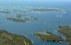 Parry Sound Islands-Antenne Lizenzfreies Stockbild