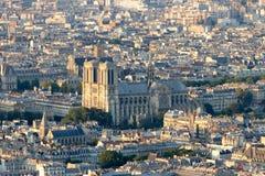 París Notre Dame Imágenes de archivo libres de regalías