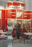 PARS Worldwide Turkish company booth Royalty Free Stock Photography