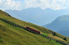 Parsenn Cog Railway Stock Image