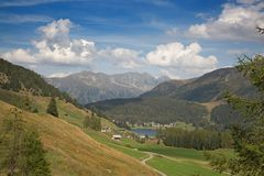 Parsenn in Davos, Switzerland royalty free stock photography