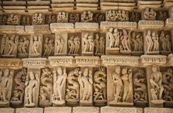 parshwanath寺庙 免版税库存图片