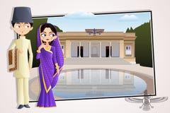 Parsi Wedding Couple Stock Photos