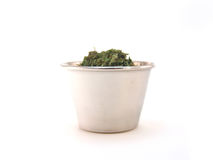 Parsley in Ramekin Royalty Free Stock Image