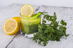 Parsley smoothie Royalty Free Stock Photography