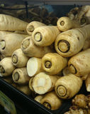 Parsnip, Pastinaca sativa Stock Photo
