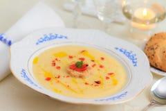 Parsnip soup Stock Image