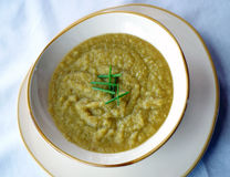 Parsnip Soup Royalty Free Stock Photos