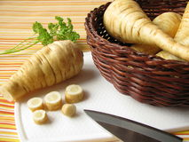 Parsnips stock photos