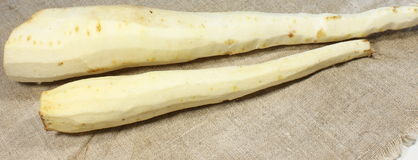 Parsnips peeled Stock Photos