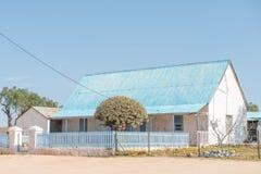 Parsonage Zlany Reformowany kościół w Concordia fotografia stock