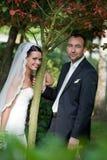 parståendebröllop Royaltyfri Fotografi