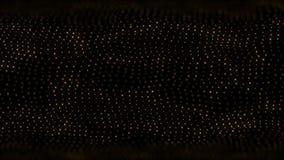 Partícula abstrata da cor do fundo do movimento capaz de dar laços ilustração royalty free
