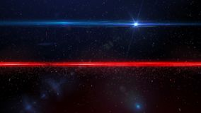 Partícula roja y azul metrajes