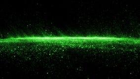 Partículas abstractas de la onda del smokey del stardust