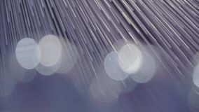 Partículas abstratas azuis filme