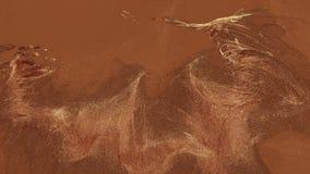 Partículas abstratas na cor marrom ilustração royalty free