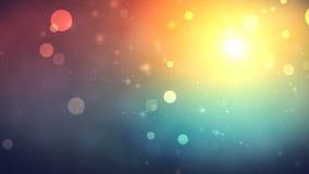 Partículas coloridas almacen de metraje de vídeo