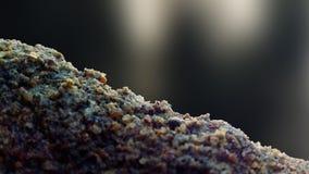 Partículas da areia com fundo imagens de stock