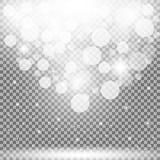 Partículas de la luz Fotos de archivo libres de regalías
