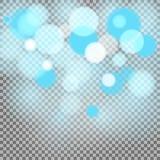 Partículas de la luz Fotos de archivo