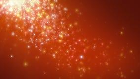Partículas de llover anaranjado claro stock de ilustración