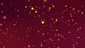 Partículas multicoloras en el movimiento caótico
