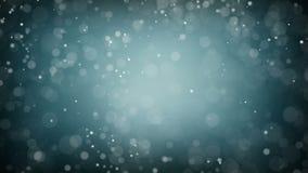 partículas Partículas orgânicas de flutuação naturais no fundo bonito Partículas de brilho com Bokeh Movimento lento vídeos de arquivo
