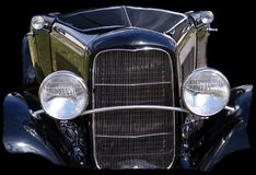 Part of a 1932 Vintage Automobile Stock Photo