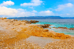Part of the Adriatic Royalty Free Stock Images