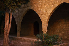 Part of the Agia Napa Medieval Monastery Stock Photography