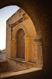 Part of the Agia Napa Medieval Monastery Stock Image