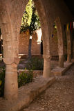 Part of the Agia Napa Medieval Monastery Royalty Free Stock Photos
