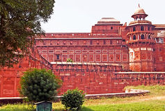 Part of Agra Fort, India Stock Photo