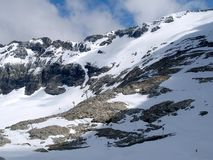 Part of the Alps mountain massif. Stock Photos