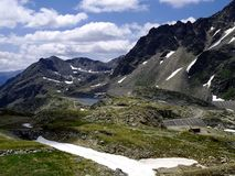 Part of the Alps mountain massif. Royalty Free Stock Image