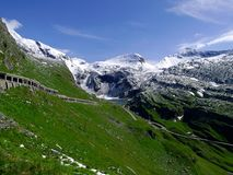 Part of the Alps mountain massif. Royalty Free Stock Photo