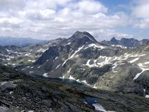 Part of the Alps mountain massif. Stock Photography