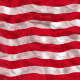 Part of american flag Stock Photography