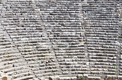 Part of ancient amphitheater in Myra Royalty Free Stock Images