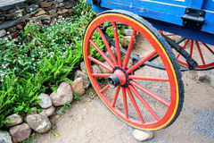 Part of ancient cart Royalty Free Stock Photography