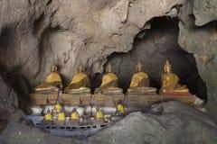 Part of the ancient cave Tham Khao Luang near Phetchaburi Provin. Ce , Thailand Royalty Free Stock Photo